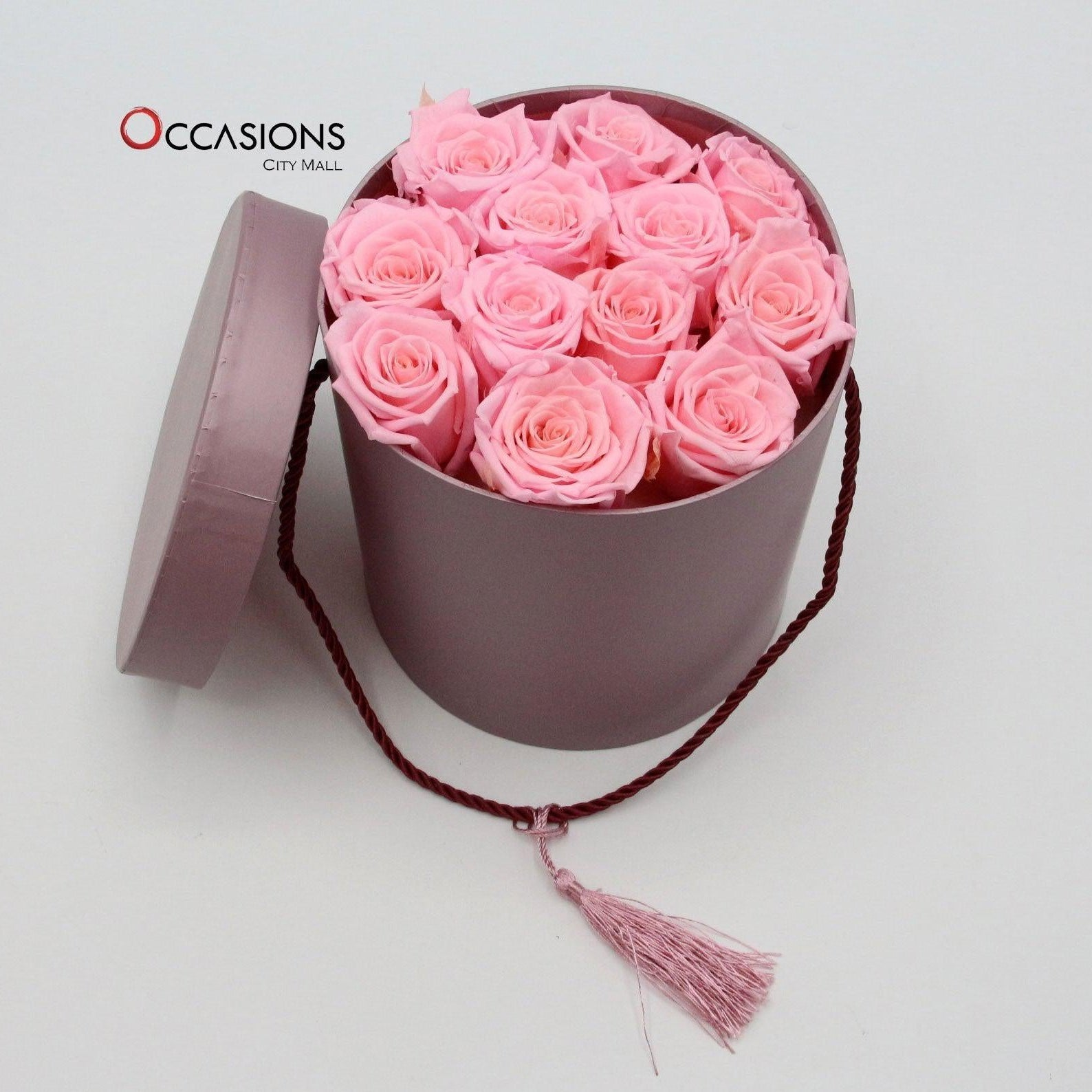 Purple Simplicity with Roses Flowerssend_delivery_Amman_Jordan
