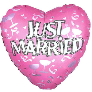 Just Married Balloon - gift-on-line
