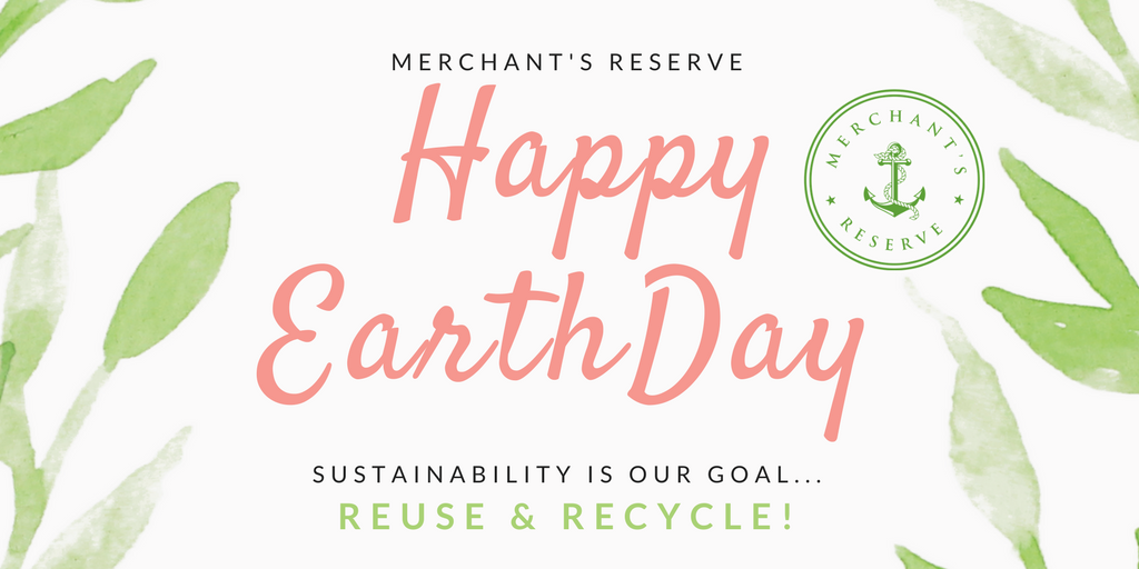 Happy Earth Day -Reuse, Recycle!