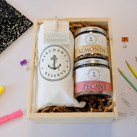 Merchant's Reserve Customized Gift Crate Care Package for Back to School