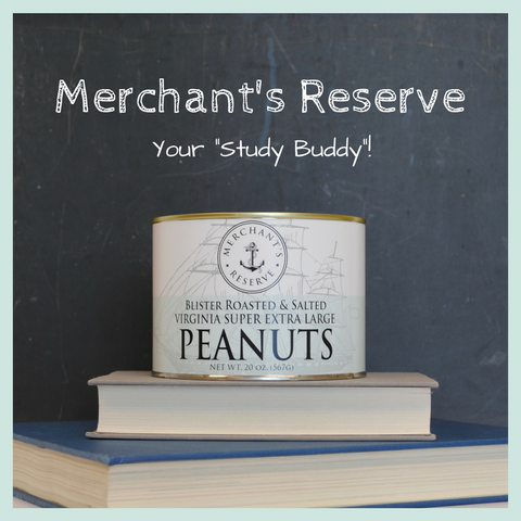 Merchant's Reserve Blister Roasted & Salted Peanuts Study Snacks