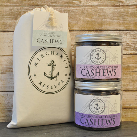 Merchant's Reseve Cashews + Chocolate Gift Set