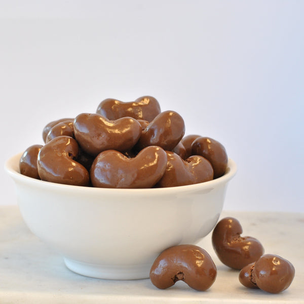 Chocolate Cashews & Sweetheart Bowl Gift Crate