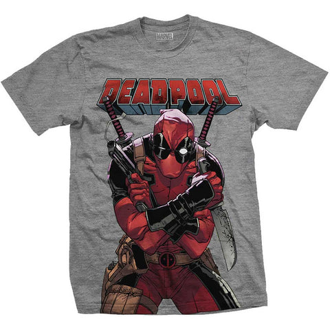 Big Print T-shirt (Deadpool  - Marvel)