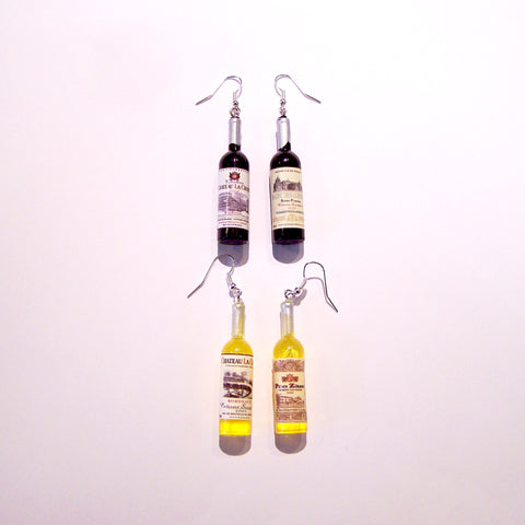 Wine Bottles Earrings