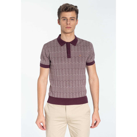 Bennard Knit Polo - Merc