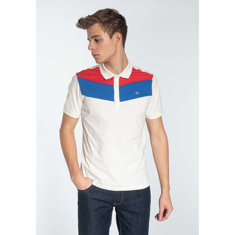Clyde Polo Shirt (White) - Merc