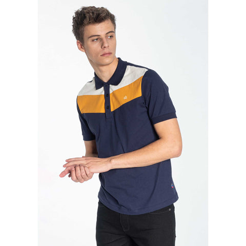 Clyde Polo Shirt (Navy) - Merc