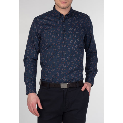 Endell Blue Shirt - Merc