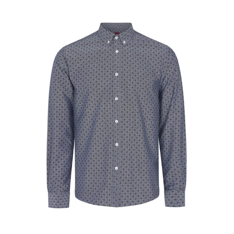 Waterloo Navy Shirt - Merc