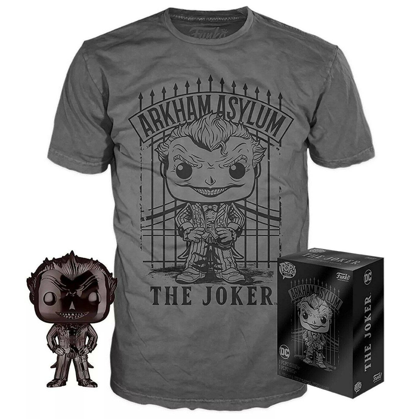 The Joker Pop Vinyl & T-shirt Set (DC)