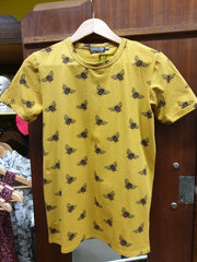 Buzzy Bee Gold T-Shirt ~ Run & Fly