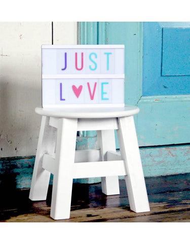 A5 & A4 Pastel Letters Set ~ A Little Lovely Company