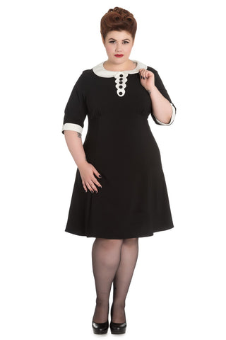 Magpie Dress ~ Hell Bunny