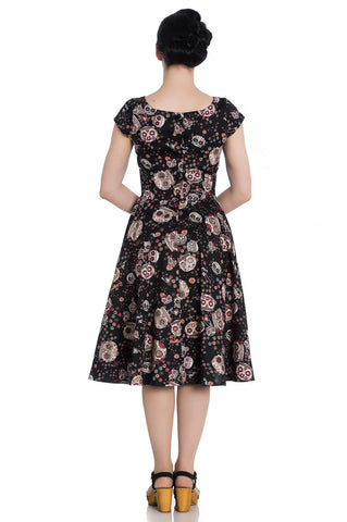 Idaho 50's Sugar Skull Dress ~ Hell Bunny