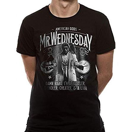Mr Wednesday T-Shirt (American Gods)