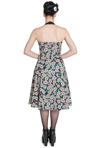 Calaveras 50s Dress ~ Hell Bunny