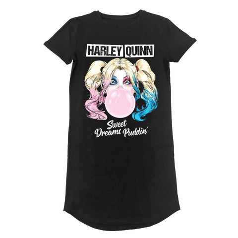 Harley Quinn - Sweet Dreams - T-shirt Dress (DC)