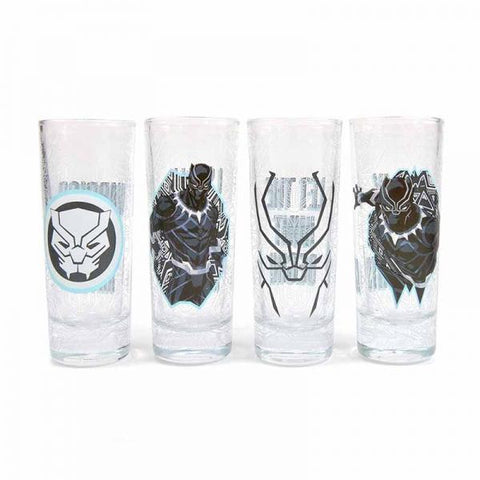 Black Panther Mini Glasses (Marvel)