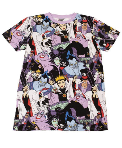 Villains AOP T-Shirt (Cakeworthy - Disney)