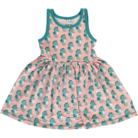 Seahorse Spin Dress NS ~ Maxomorra