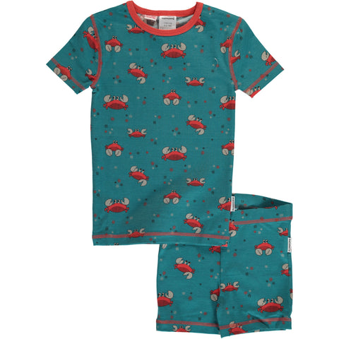 Crab Pyjama Set SS ~ Maxomorra