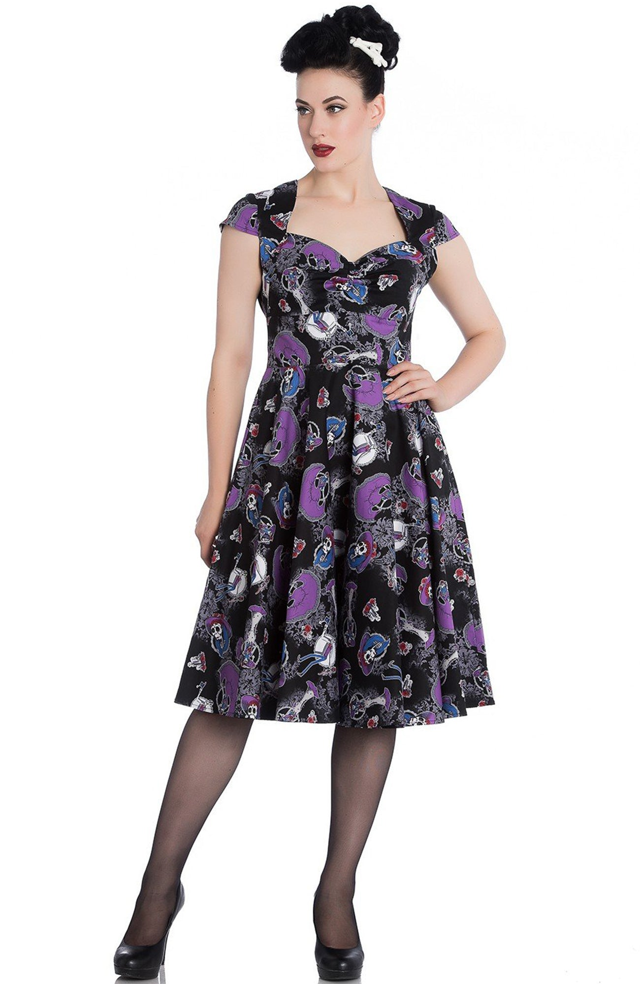 Graciela 50's Dress ~ Hell Bunny