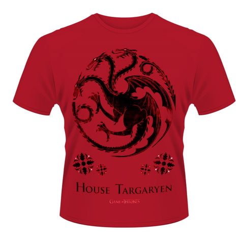 House Targaryen Red T-Shirt (Game Of Thrones)