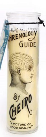 Phrenology Candle ~ Temerity Jones  ** BACK SOON