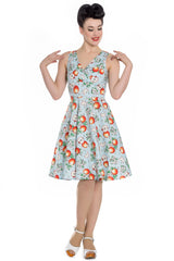 Somerset Apples Dress ~ Hell Bunny * Up To Size 22