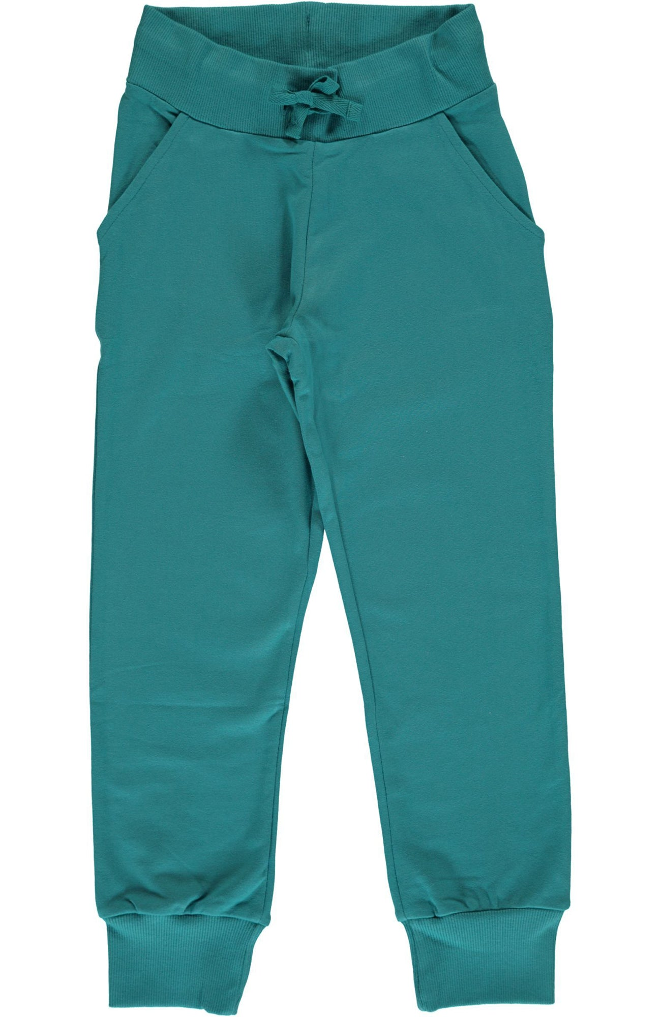 Soft Petrol Sweatpants ~ Maxomorra
