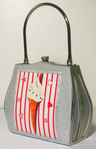 99 Flake Ice-cream Bag ~ Helen Rochfort Handbag