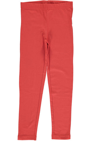 Rusty Red Leggings ~ Maxomorra
