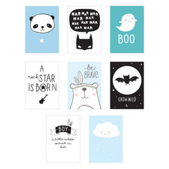 Poster Lightbox Sheets: Boy ~ A Little Lovely Company