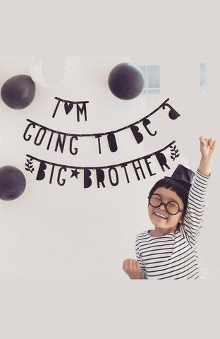 Make Your Own Letter Banner [Black]   ~ A Little Lovely Company