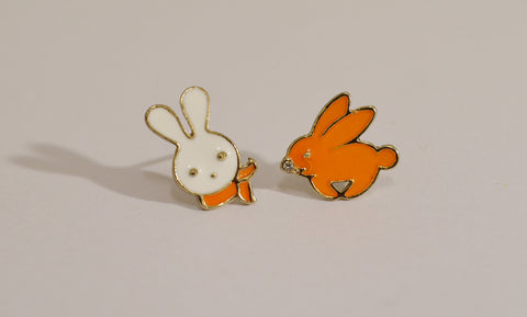 Cute Bunny Stud Earrings