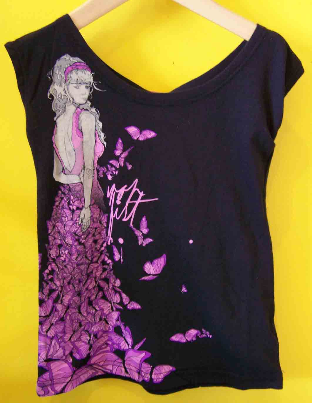 Madam Butterfly Tshirt ~ Children's Iron Fist