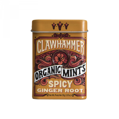 Clawhammer Organic Mints Spicy Ginger Root (30g)