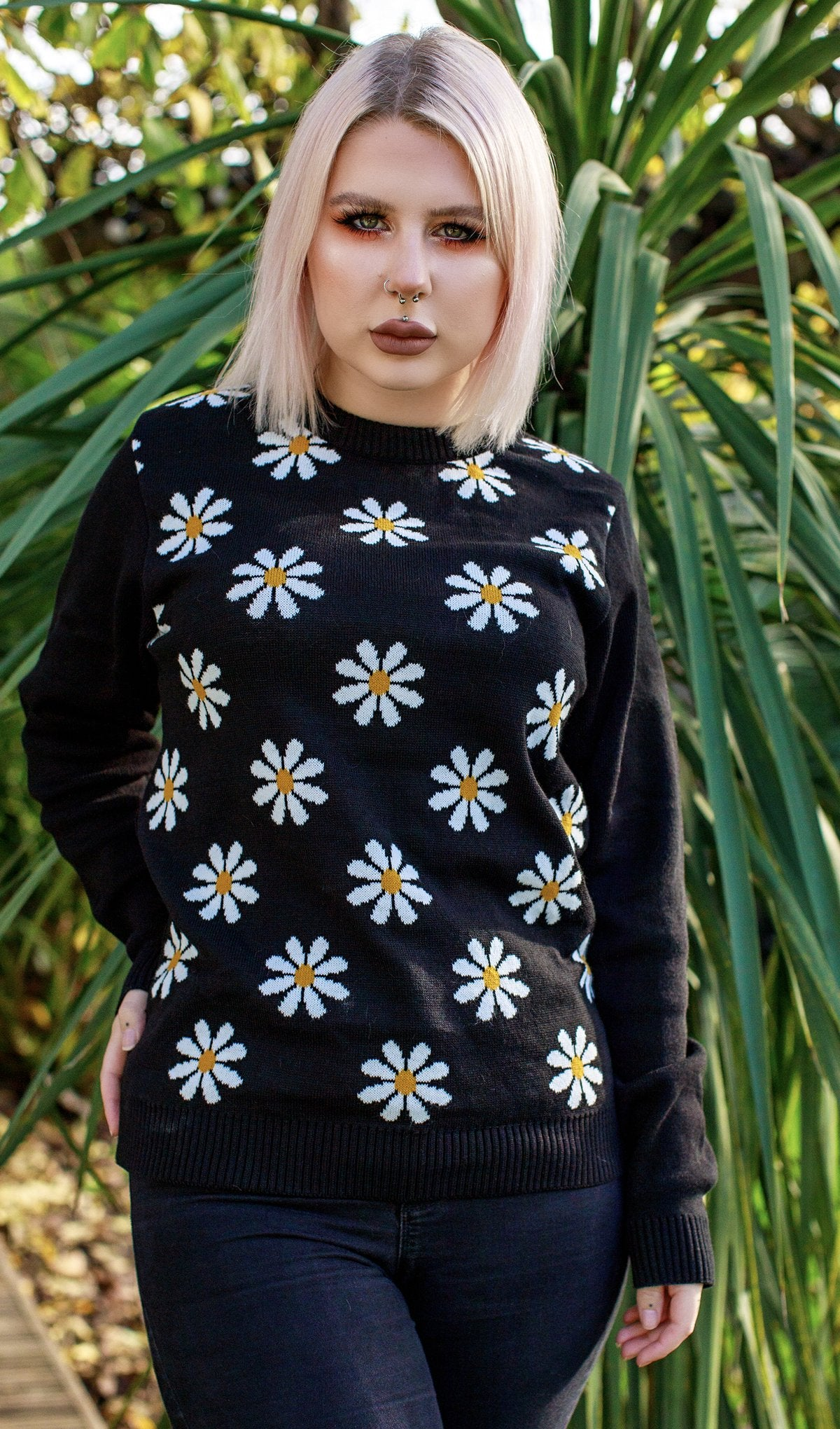 Daisy Knitted Jumper - Run & Fly