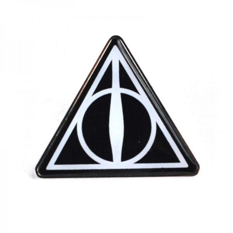 Deathly Hallows Enamel Badge (Harry Potter)
