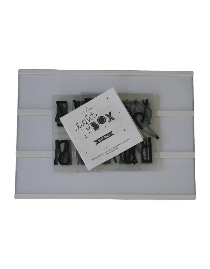Lightbox A5 [& Letters] ~ A Little Lovely Company  **Special Offer Free Extra Letter Pack
