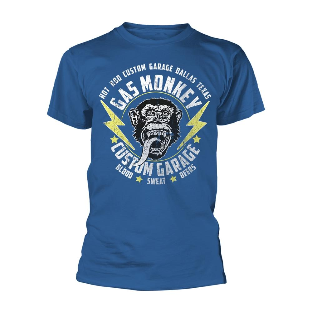 Lightning Bolt T-Shirt (Gas Monkey)