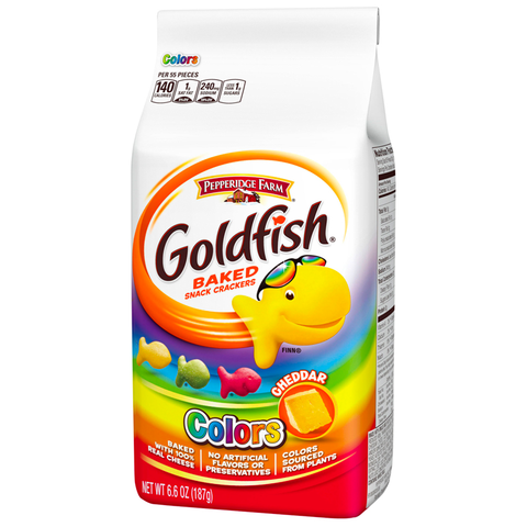 Goldfish Crackers - Colors (187g)