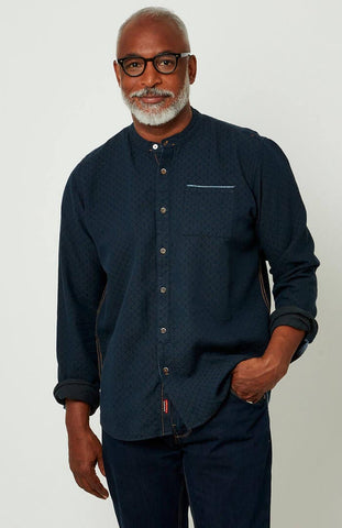 Easy Wearing Grandad Shirt ~ Joe Browns