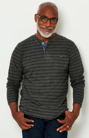 Herringbone Henley ~ Joe Browns