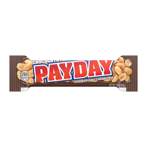 Chocolate Payday (52g) ~ American Candy