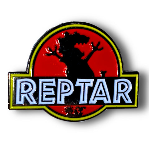Jurassic Reptar Enamel Pin Badge