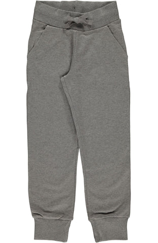 Light Grey Melange Sweatpants ~ Maxomorra