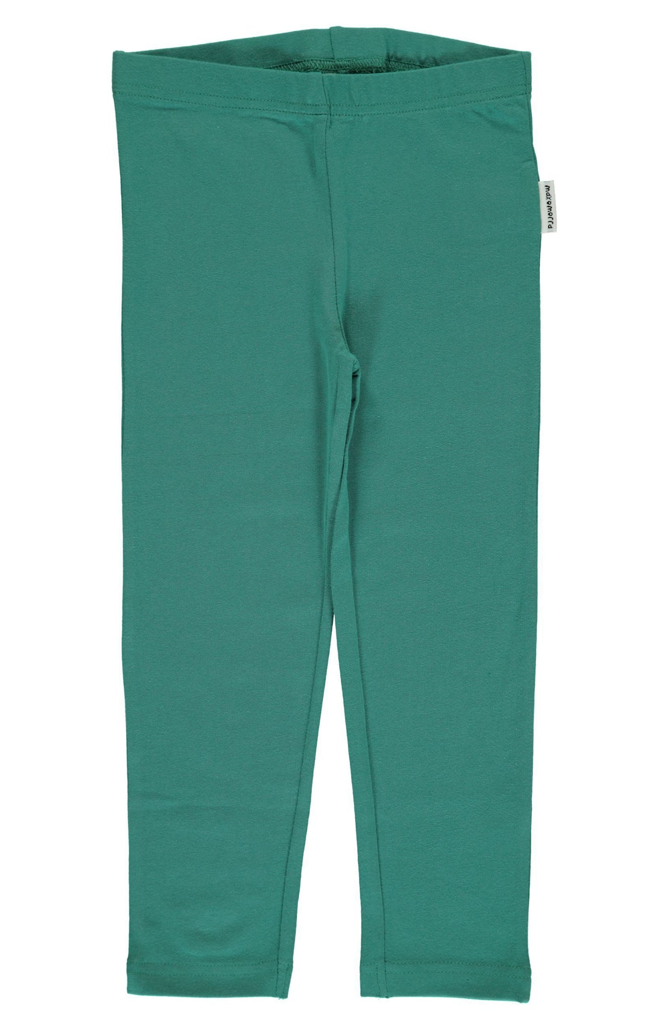 Green Petrol Cropped Leggings ~ Maxomorra