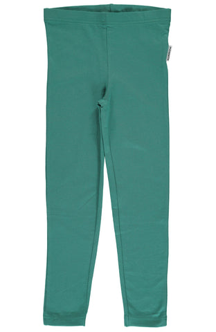 Green Petrol Leggings ~ Maxomorra